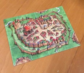the City starting section for Carcassonne