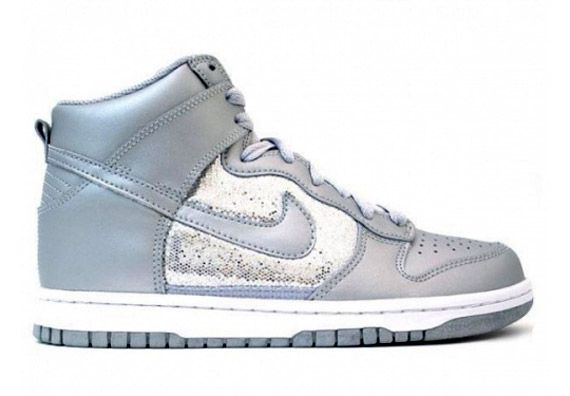 Sparkly Nike high tops. Perfect