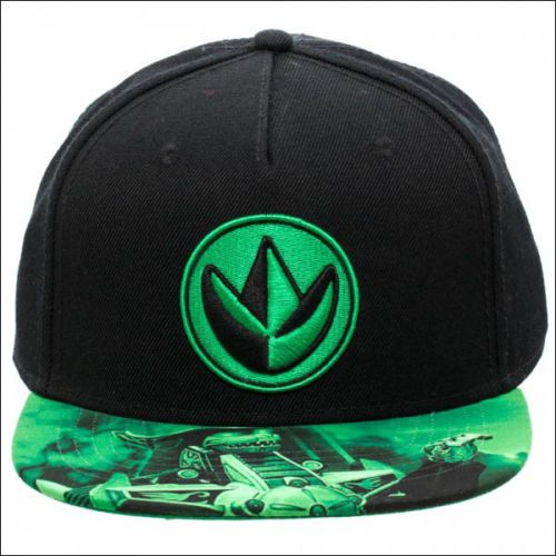 4c73c6915 Power Rangers Mighty Morphin Sublimated Bill Green Black Snapback ...