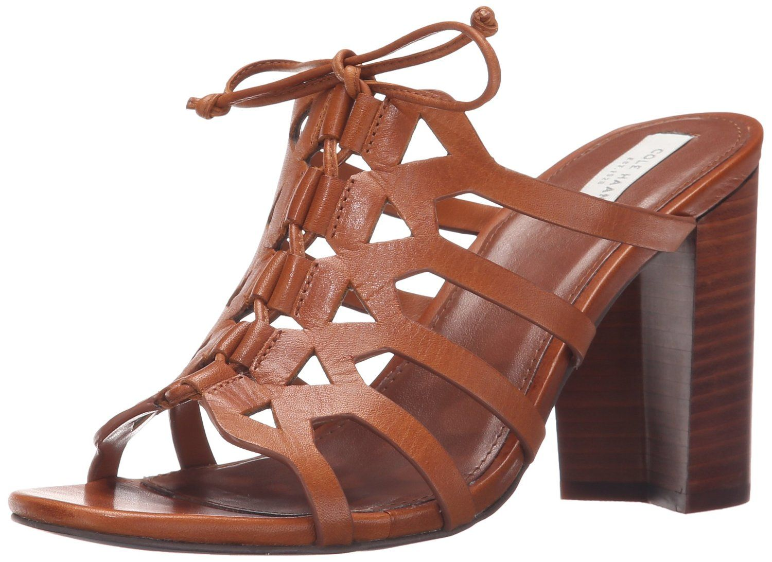 Cole Haan Women's Claudia High Dress Sandal -- More infor at the link of image  : Lace up sandals
