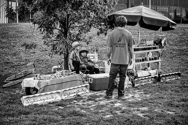 Amish roadside stand