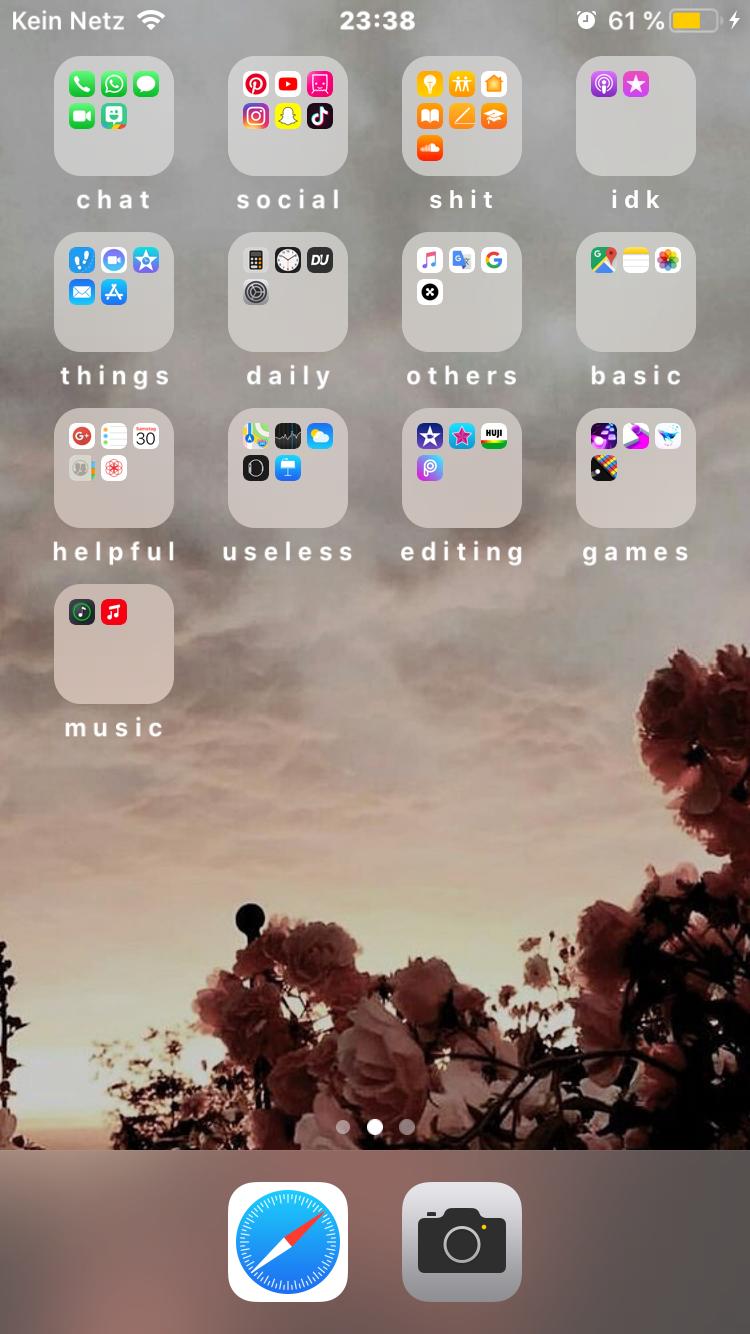 Aesthetic layout 🍃 #aesthetic #phone #aestheticwallpaper