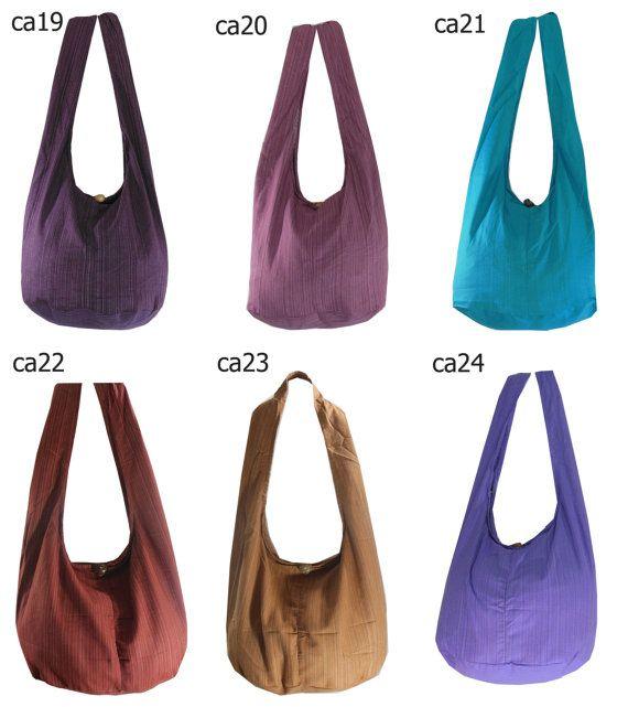 Cotton, Crossbody, Shoulder bag, Hippie, Boho, Hobo, Messenger ...