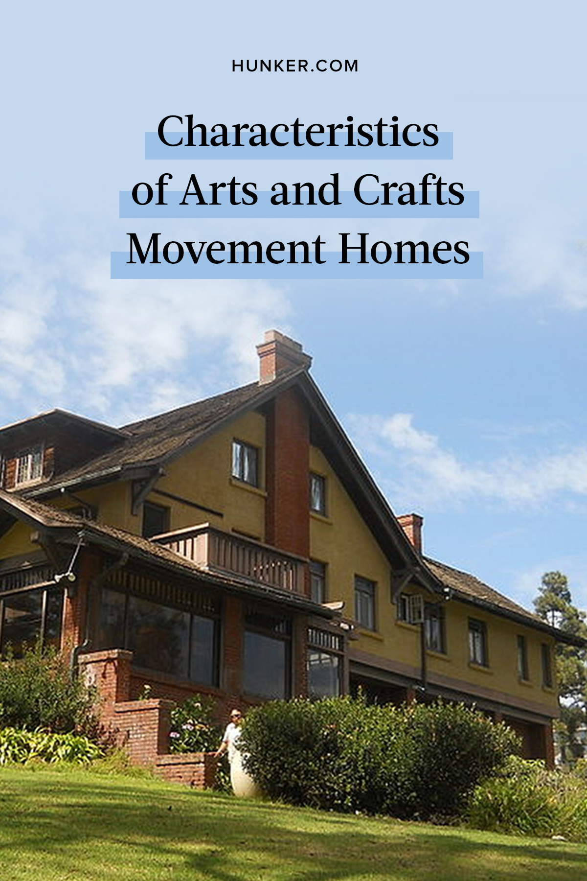 These Are The Main Characteristics Of Arts And Crafts Movement Homes Hunker Arts And Crafts Arts And Crafts House Arts And Crafts Movement