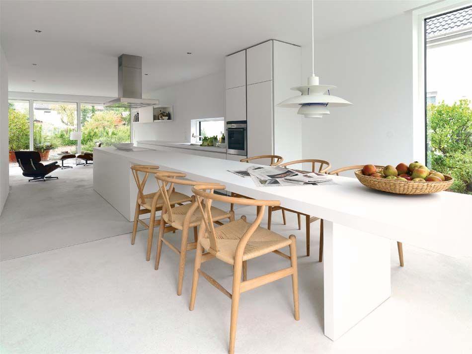 cuisine moderne la maison et une sobre Aménager à au design SMVpGLzqU