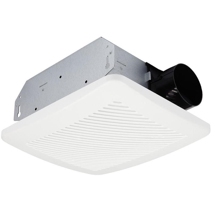 Utilitech Ventilation Fan 2 Sone 70 Cfm White Bathroom Fan Energy