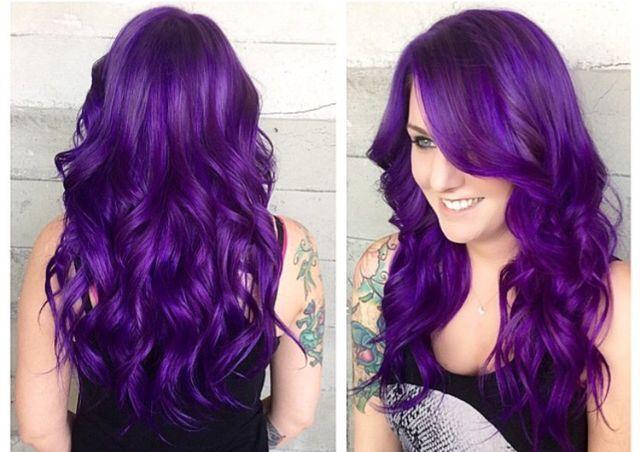 Purple Hair Dye Styles: Pin By Ali Read On Purple Hair In 2019