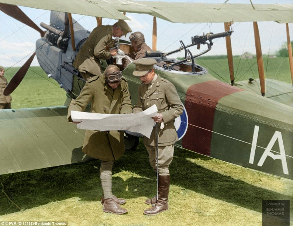 Incredible colourised photographs of Australian troops