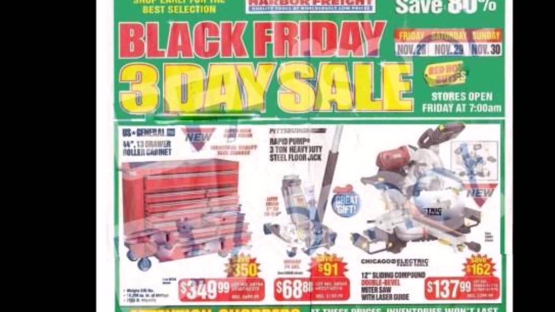 Black Friday 2014 Harbor Freight ad Black friday flyer