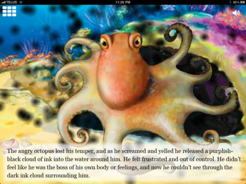 Angry Octopus: A Children's Relaxation Story by Lori Lite