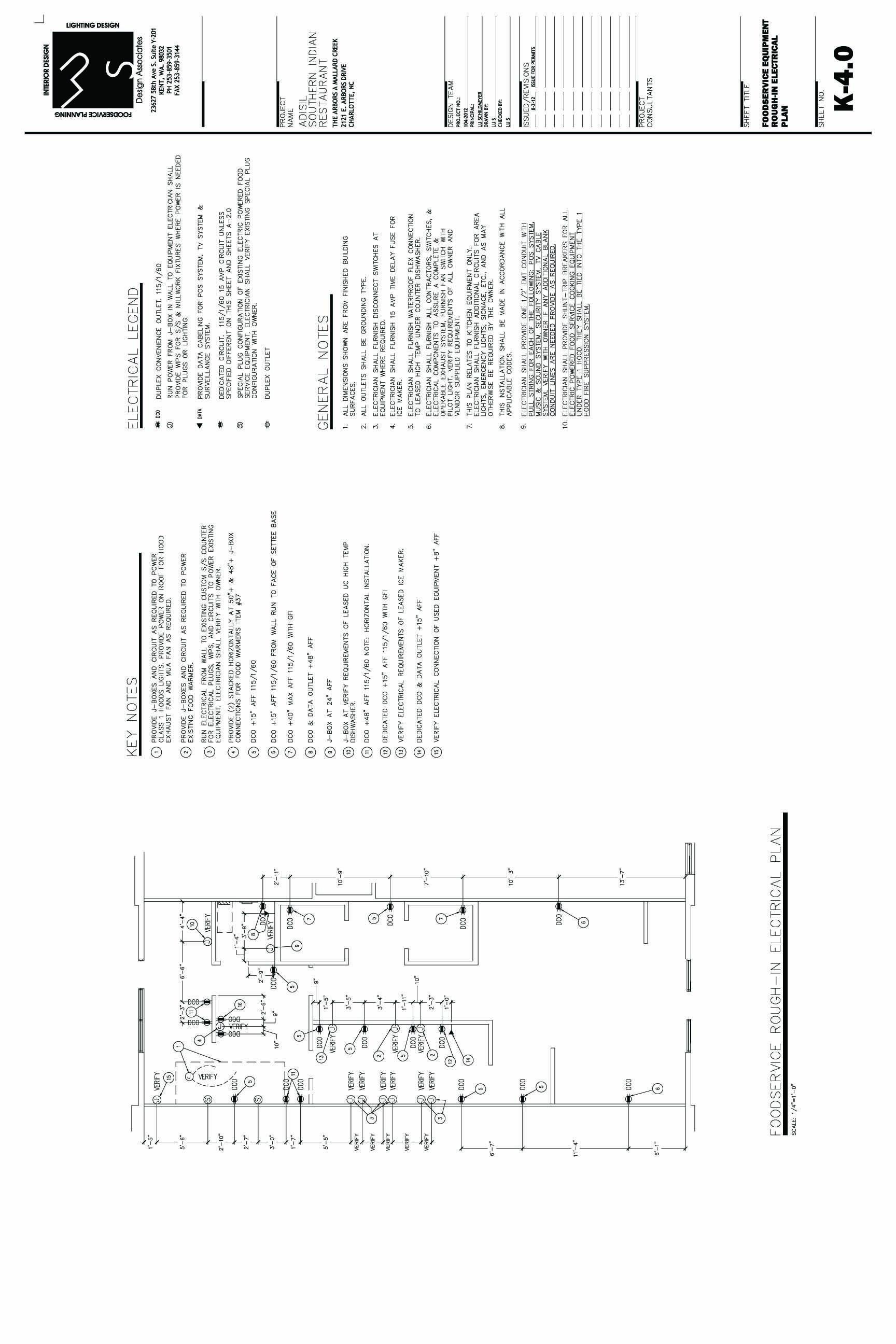 adasil cd rough in electrical plan designed by lu s design associates [ 1728 x 2592 Pixel ]