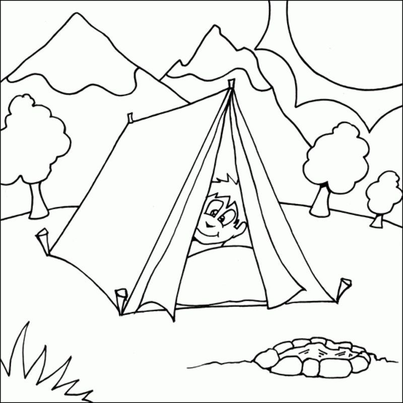 Snoopy Camping Coloring Pages Free Camping Coloring Pages Free Kids Coloring Pages Zebra Coloring Pages