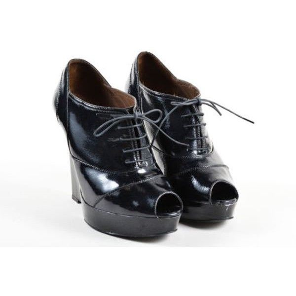 Pre-owned - Leather lace ups Marni VYsNAs