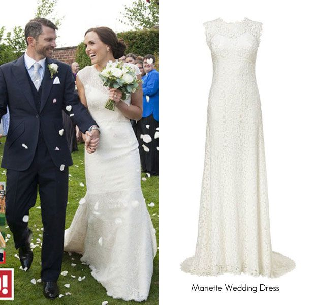 Victoria Pendleton Wedding Dress Get The Look With The Phase Eight