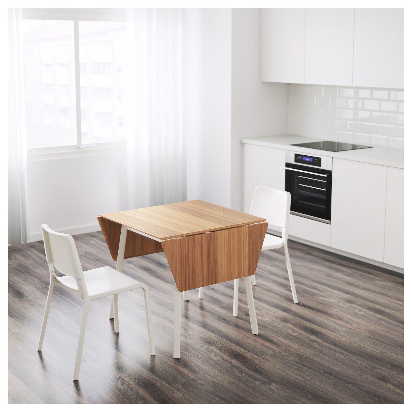 Ikea Ps 2012 Teodores Tisch Und 2 Stuhle Bambus Weiss Weiss Ikea Osterreich Ikea Ikea Ps Kleiner Esstisch