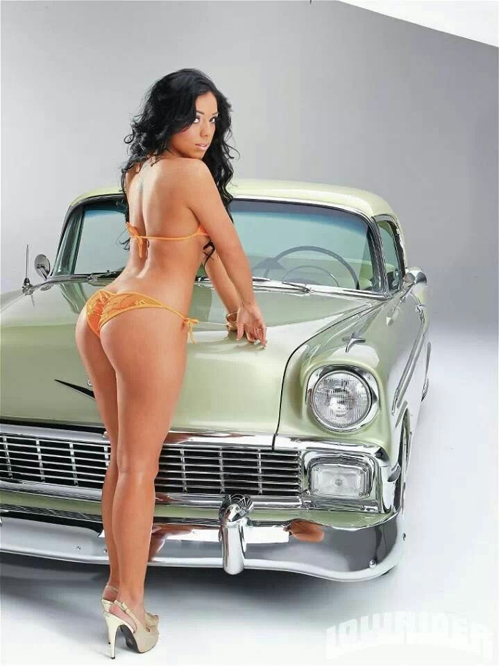 Latinas ass with lowriders pity