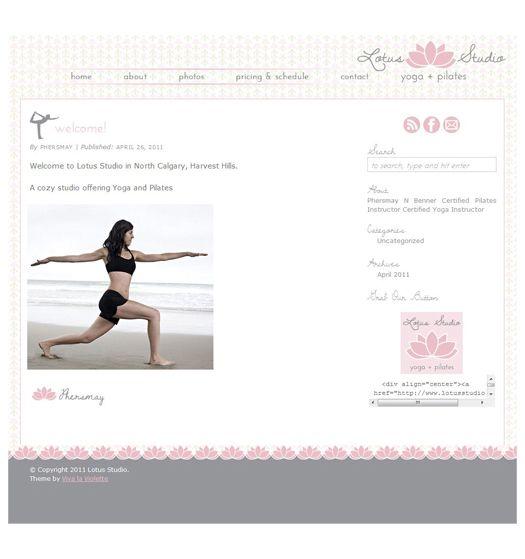 Web Design by Viva la Violet | ARCHIVED DESIGN | View recent projects at www.vivalaviolet.com/portfolio