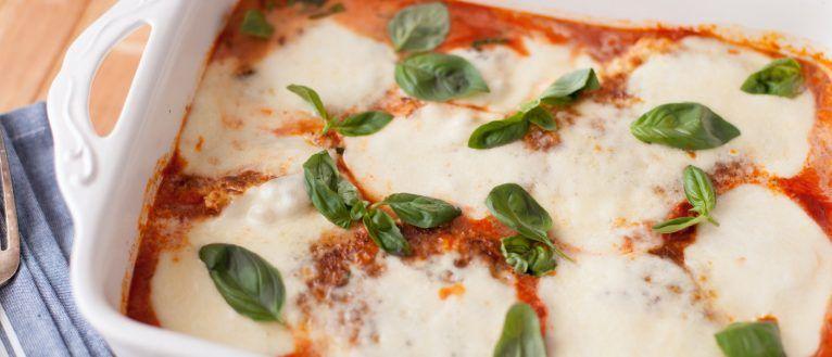 Gluten Free chicken parmigiana