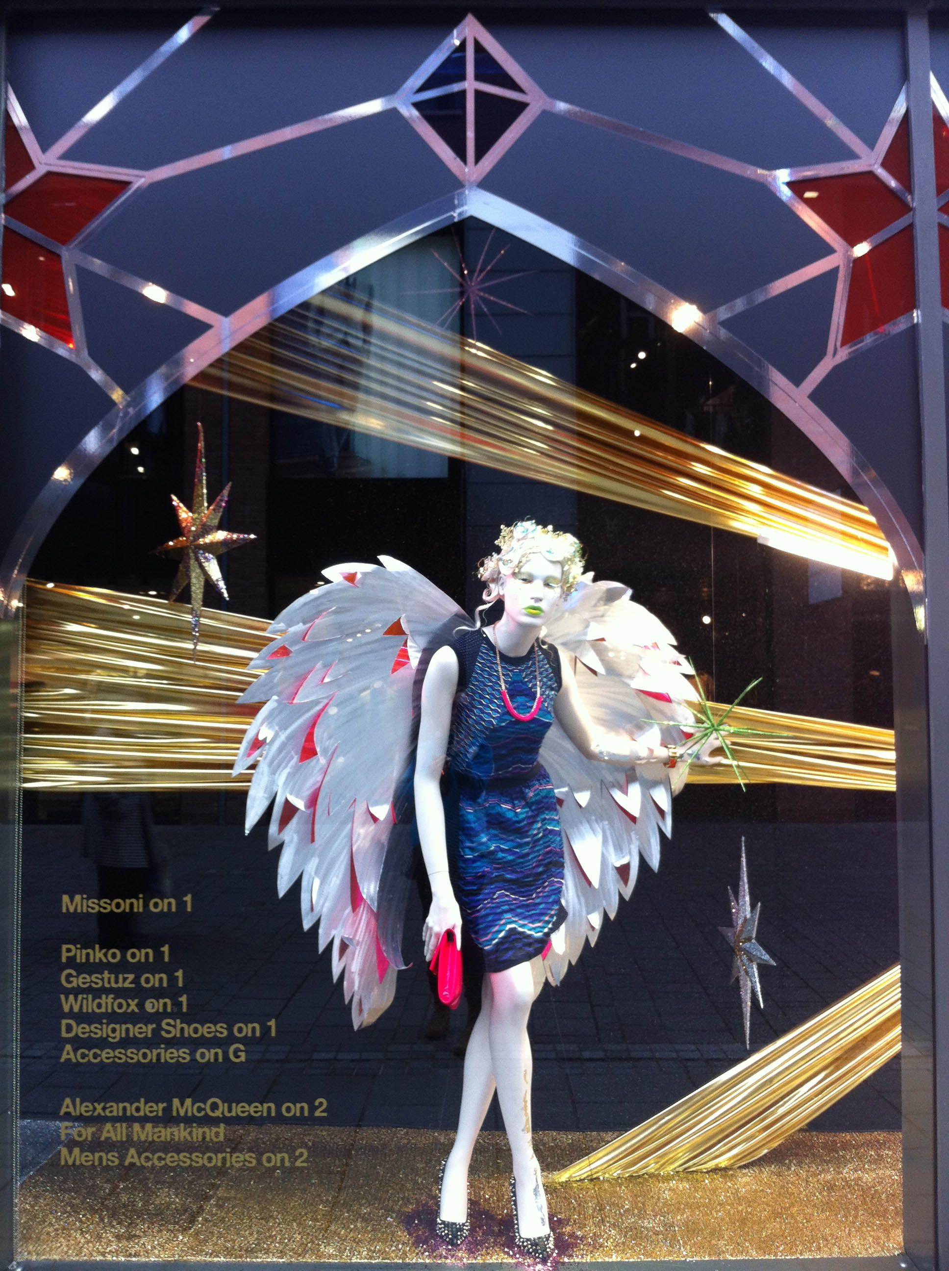 Harvey Nichols Christmas Window 2013