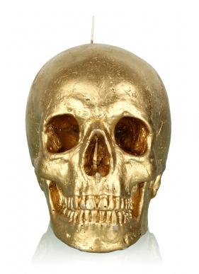 Gold Skull Sieraden Goud