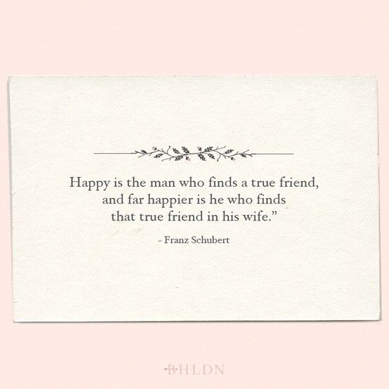 A Quote On The Importance Of Friendship In Marriage By
