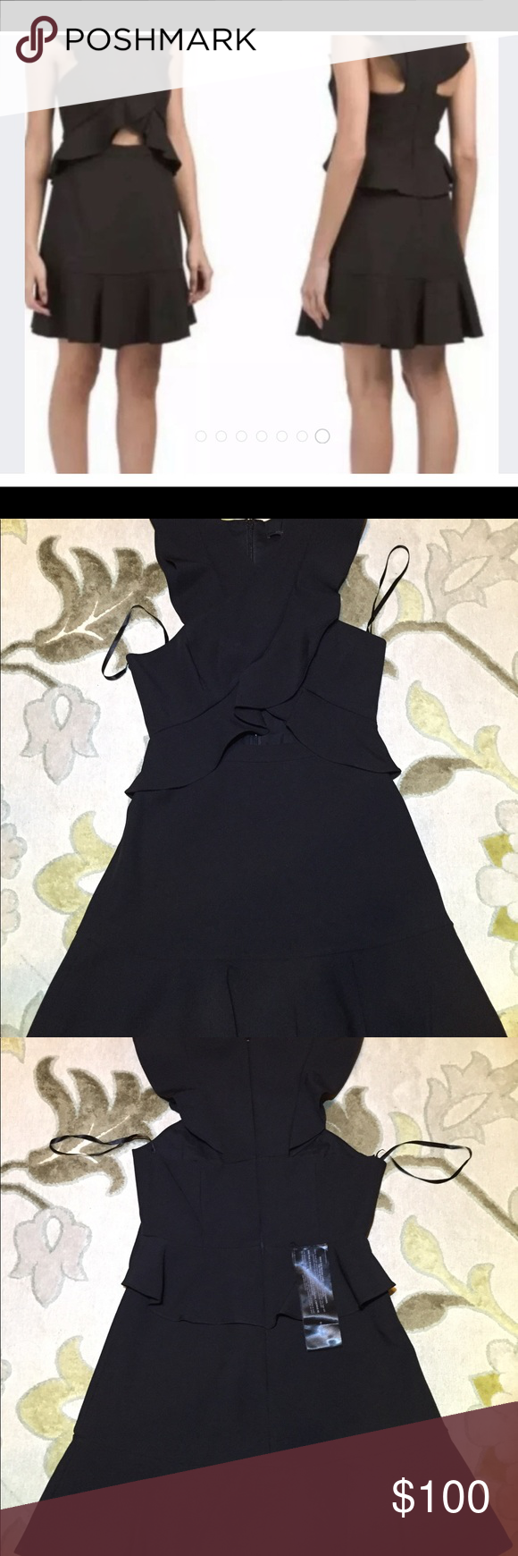 Nwt Bcbg Maxazria Careen Little Black Dress Sz 6 Little Black Dress Black Dress Clothes Design