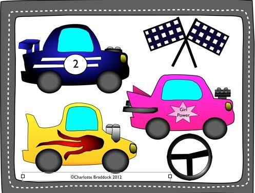 free race car clip art charlotte s clips and kindergarten kids rh pinterest com race car driver clipart free free vintage race car clipart