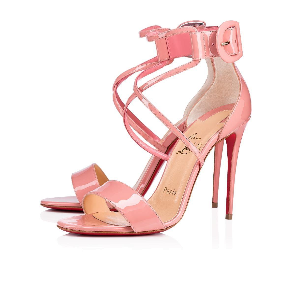 the best attitude 57210 fe8f9 Choca 100 Guimauve Patent Leather - Women Shoes - Christian ...