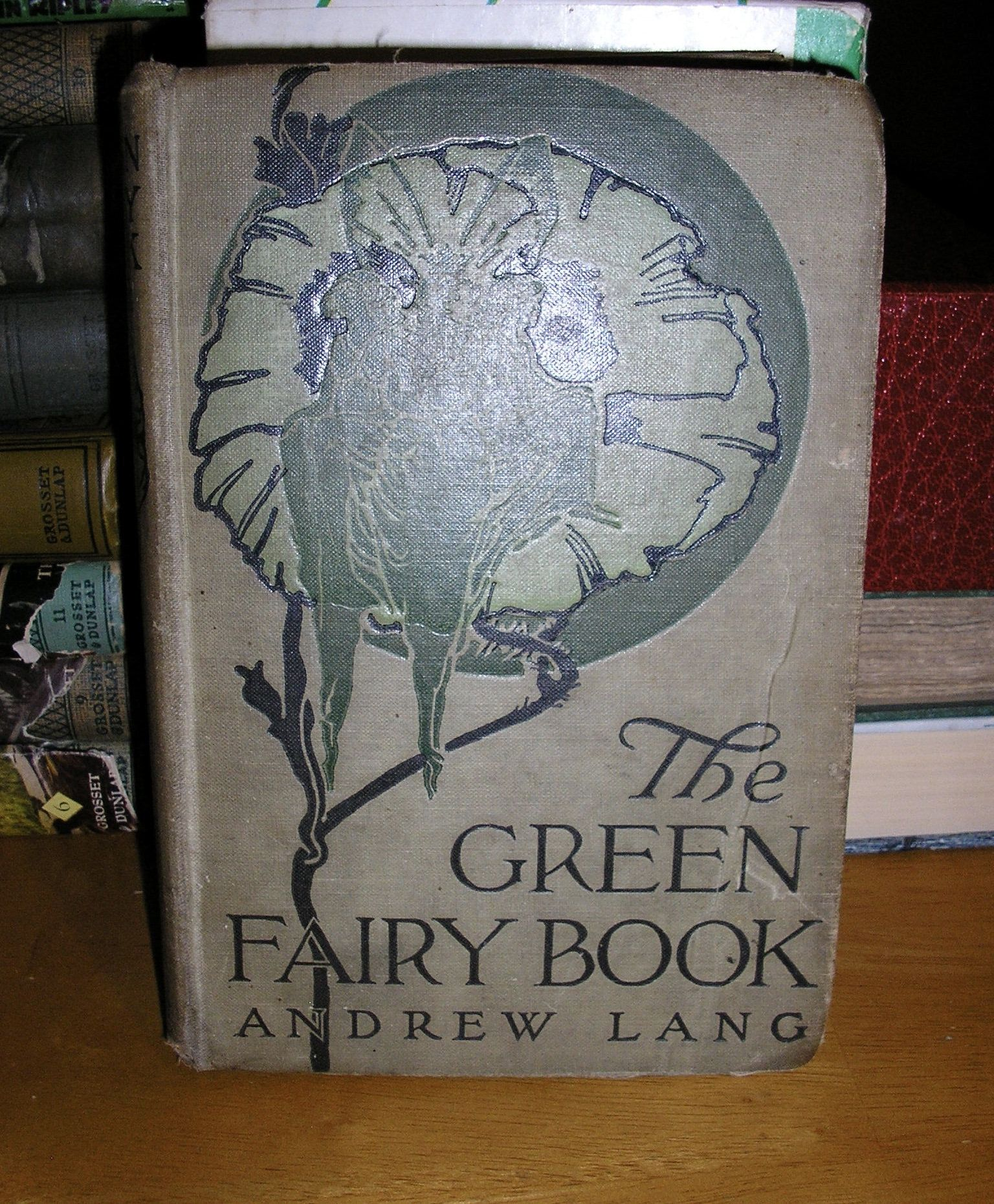 Antique the green fairy book by andrew lang grosset