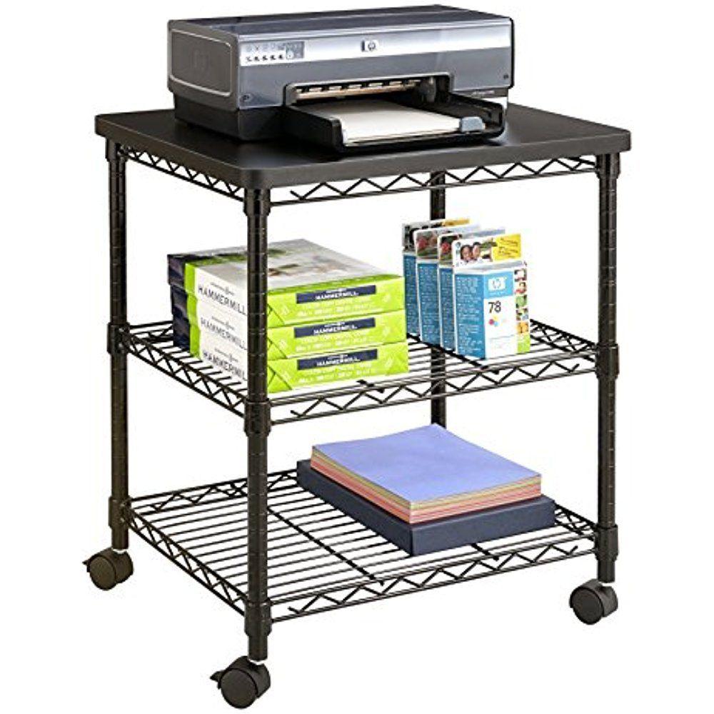 Desktop Shelf as Storage Shelf Desktop Stand for Printer Book ...