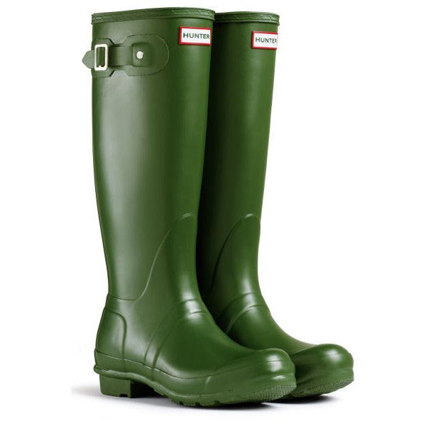Damen Hunter Wellington Stiefels Original Tall Regen Schnee Wellies Neu - Blau - 39