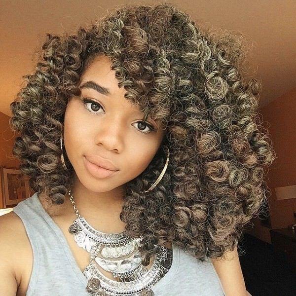 Crotchet Braids Prettiest I Ve Seen Nnescorner Https Blackhairinformation Com Hairstyle Gallery Crotch Hair Styles Natural Hair Styles Weave Hairstyles