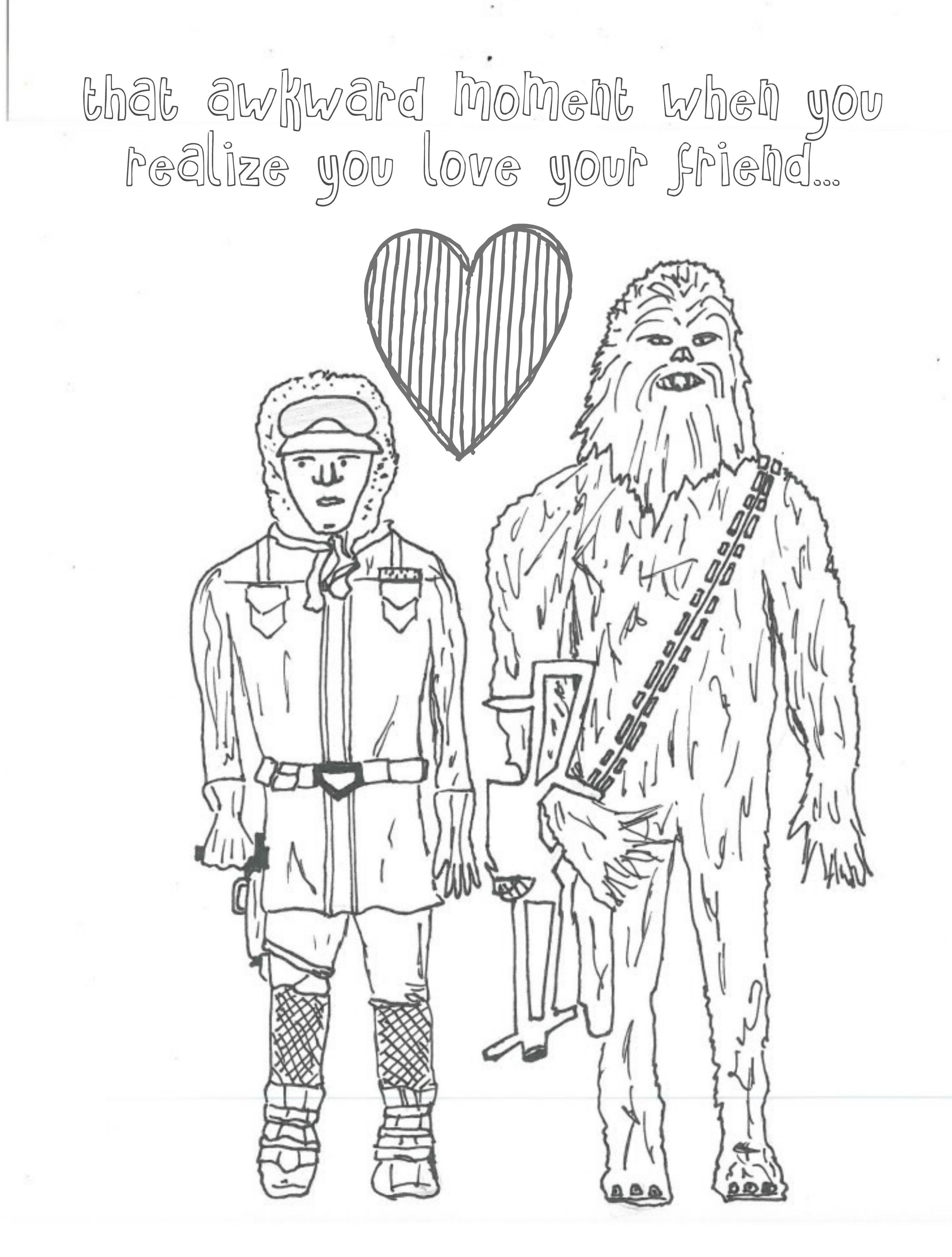 han-and-chewie-coloring-page-for-adults-.jpg (2500×3300) | SVD ...
