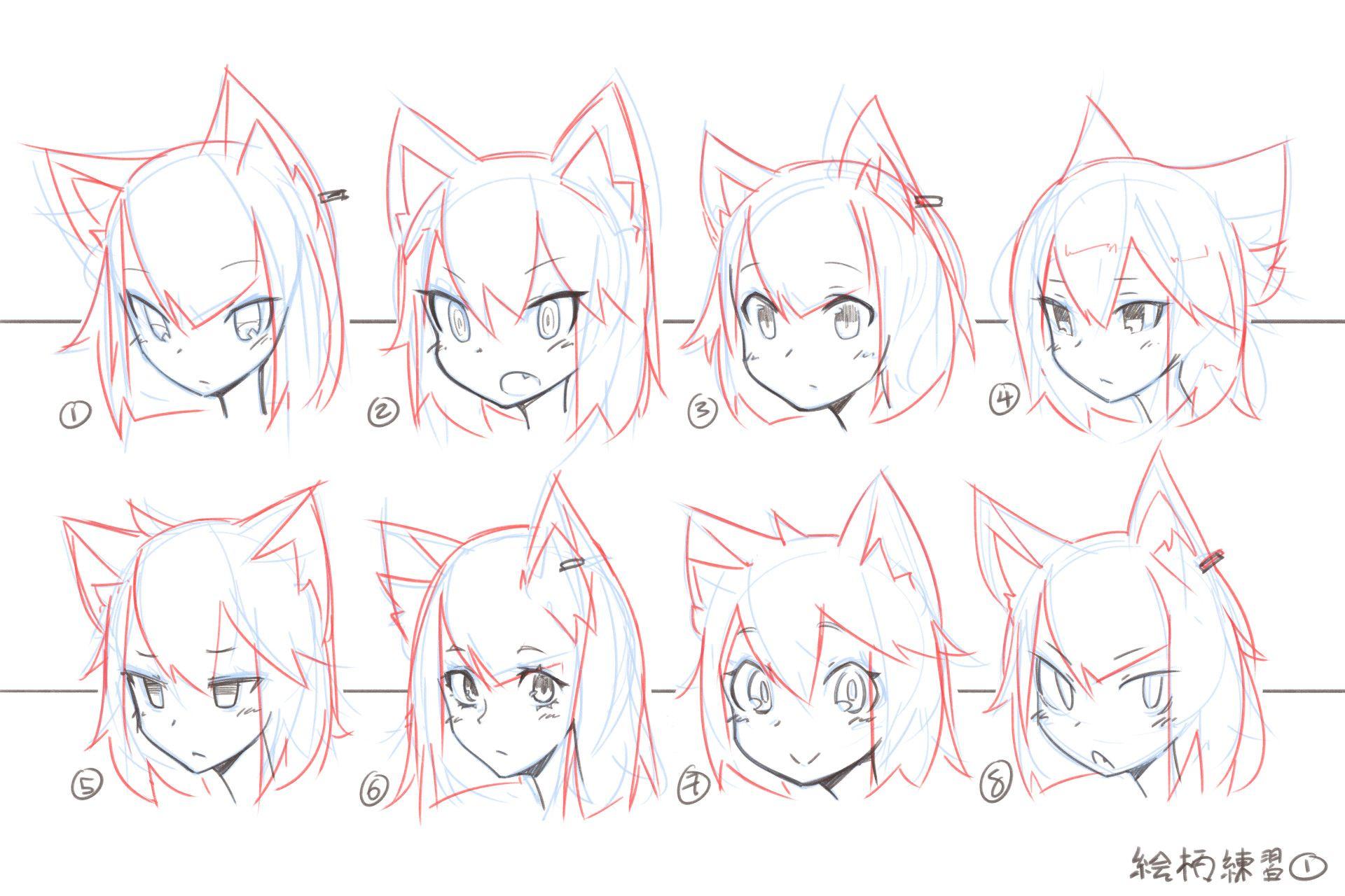 ArtStation - practice, Mendel Oh | Рисунки | Pinterest | Draw, Anime ...