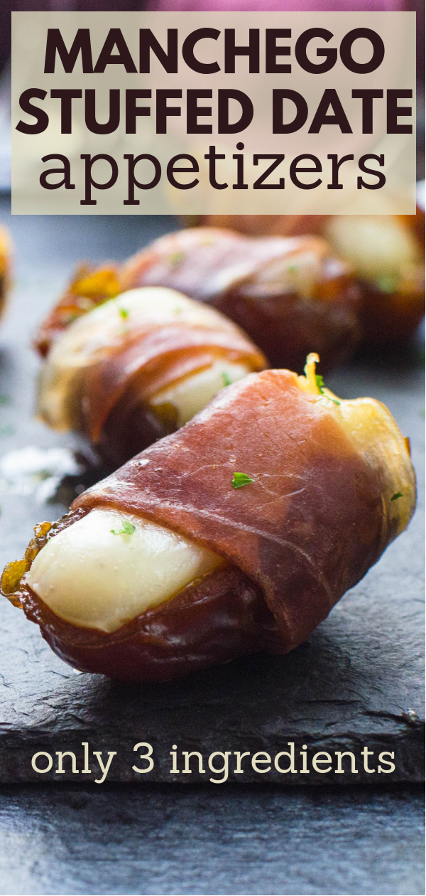 Photo of Manchego Stuffed Date Appetizers