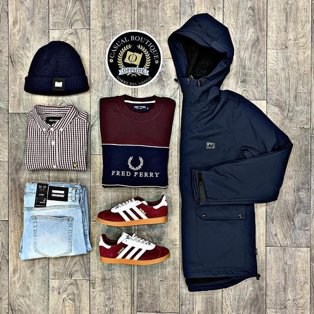 Verbazingwekkend Smart Combo . @peacefulhooligan jacket and @fredperry WS-68
