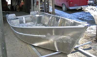 15+ Awesome Aluminum Boat Modification Ideas | Boats ...