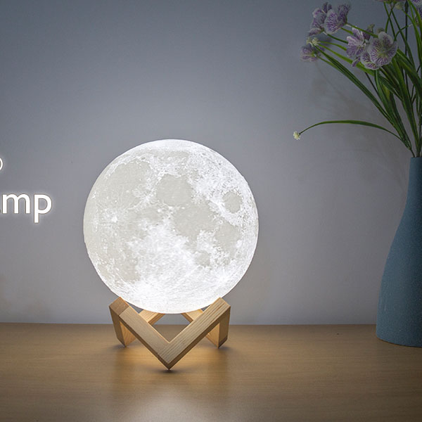 Bring Down The Moon To You Just Hope You Happythis Moon Lamp Using The Advanced 3d Printing Technology And High Quality With Images Lamp 3d Printing Technology Led Lights