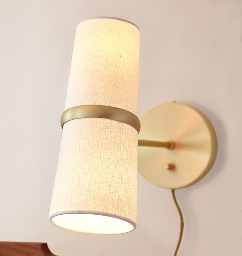 Conifer Short Plug-In Wall Sconce | Wall sconces, Walls and Bedrooms