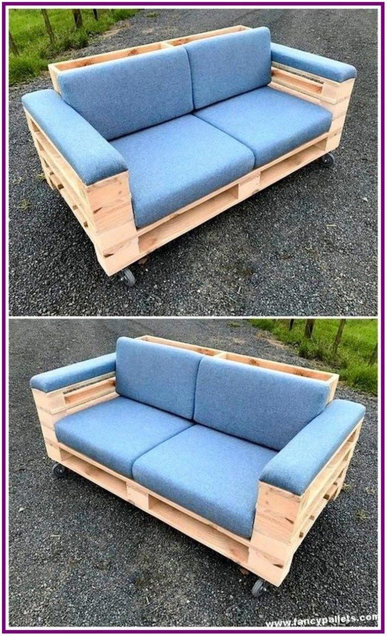 26 Inspiring Wooden Pallet Sofa Designs 00005 Pallet Patio Furniture Diy Pallet Sofa Pallet Furniture Outdoor