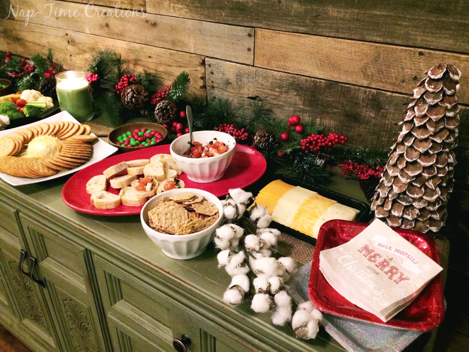 Holiday Appetizer Buffet for Easy Entertaining! (With