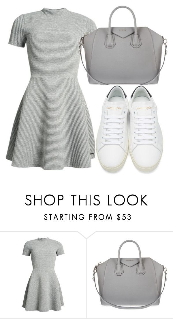 """Unbenannt #345"" by glamand ❤ liked on Polyvore featuring Superdry, Givenchy and Yves Saint Laurent"