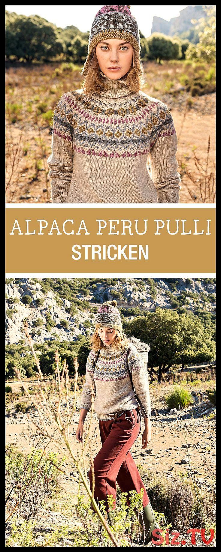 Photo of Kostenlose Anleitung: Pullover mit Norwegermuster und Rollkragen stricken, Alpak…,  #Alpak …