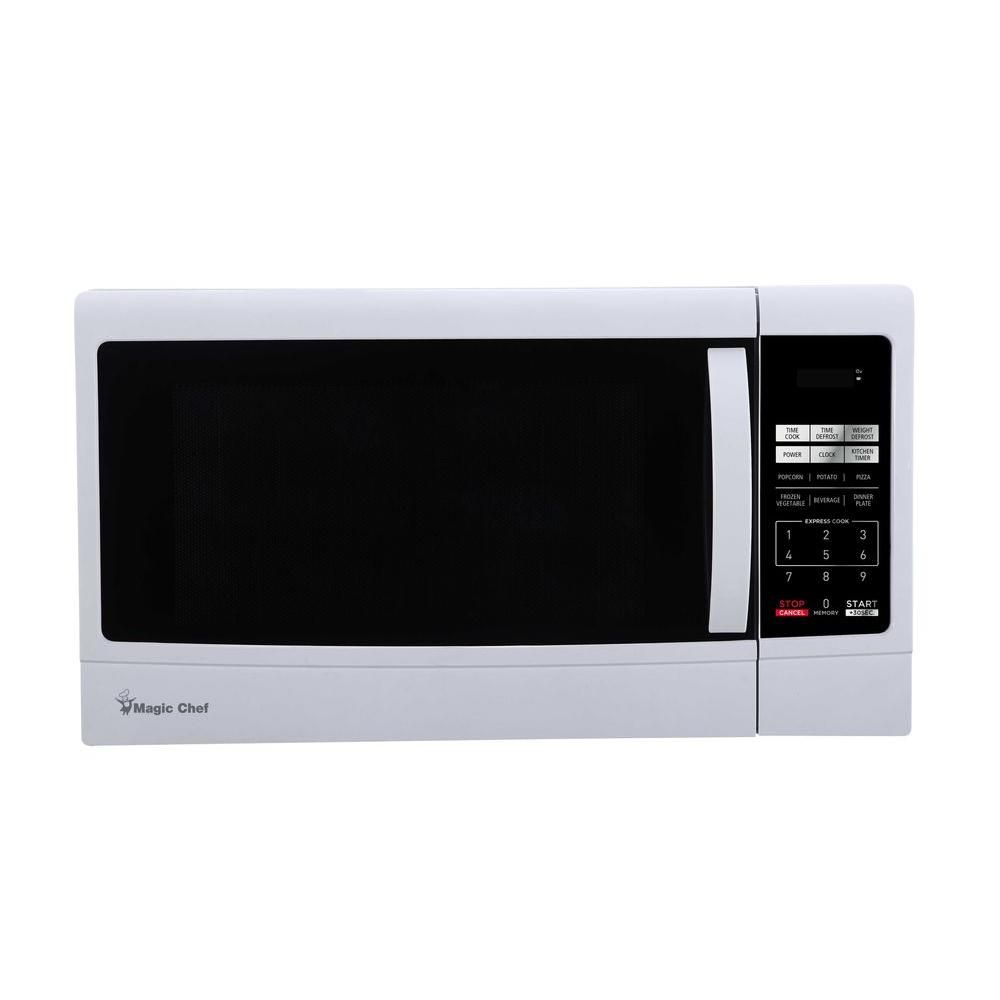 Magic Chef 1 6 Cu Ft Countertop Microwave In Black Products