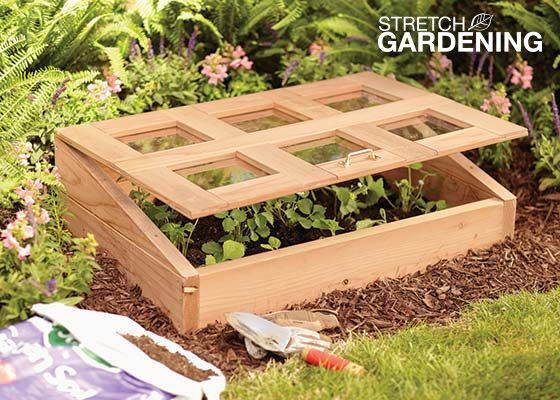 How to Build a Cold Frame Cold frame Cold frame gardening and