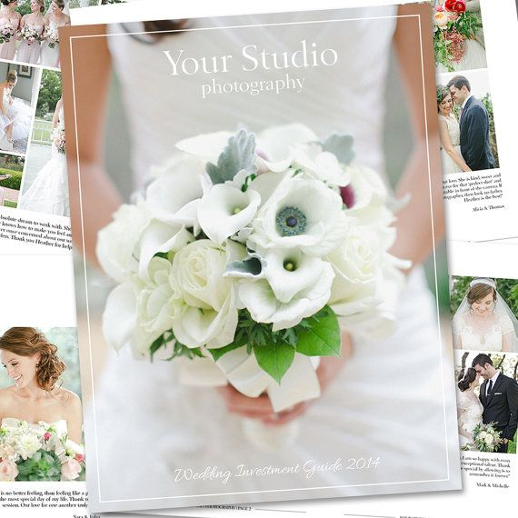 Wedding Photography Magazine Template - Digital Magazine - Studio - guide templates
