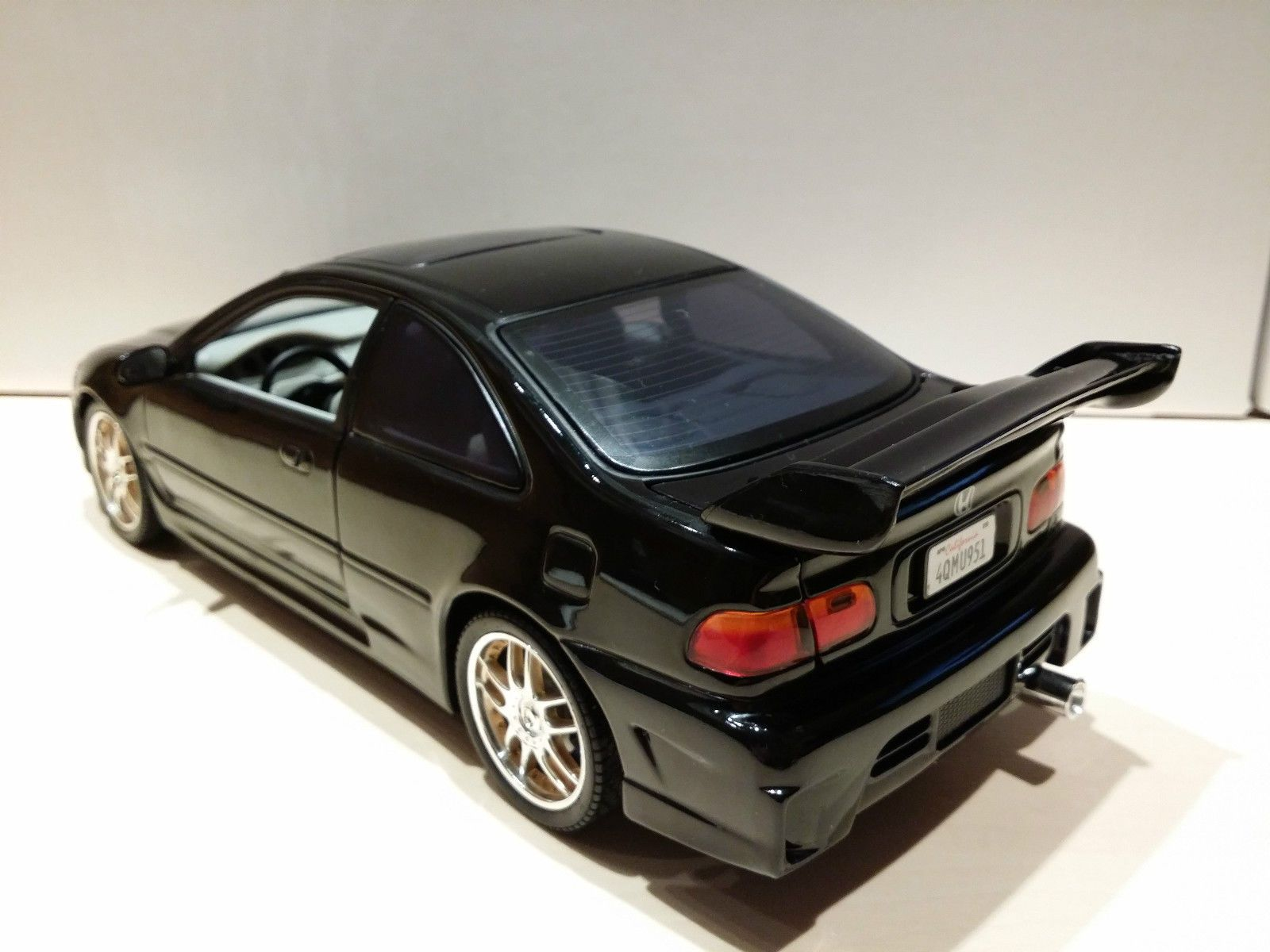 Ertl 1:18 Honda Civic Fast and Furious Modellauto (The Fast and The ...