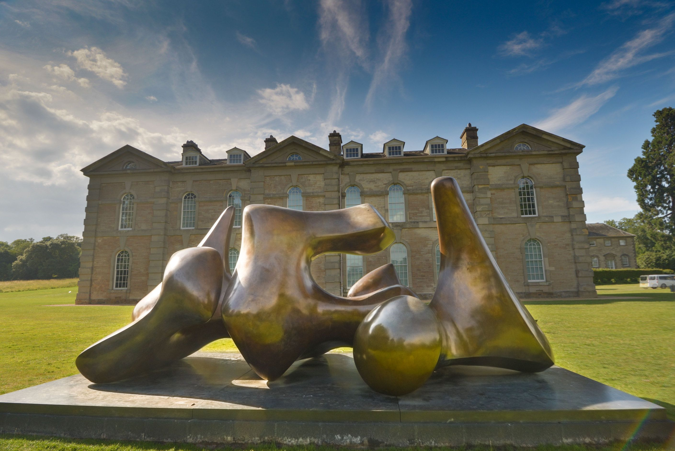 Compton Verney in deepest Warwickshire exhibiting both August Rodin ...