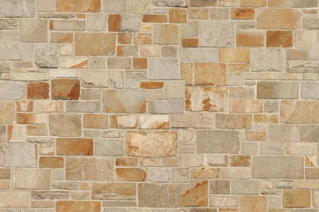 Seamless Stone Brick Wall Maps Texturise