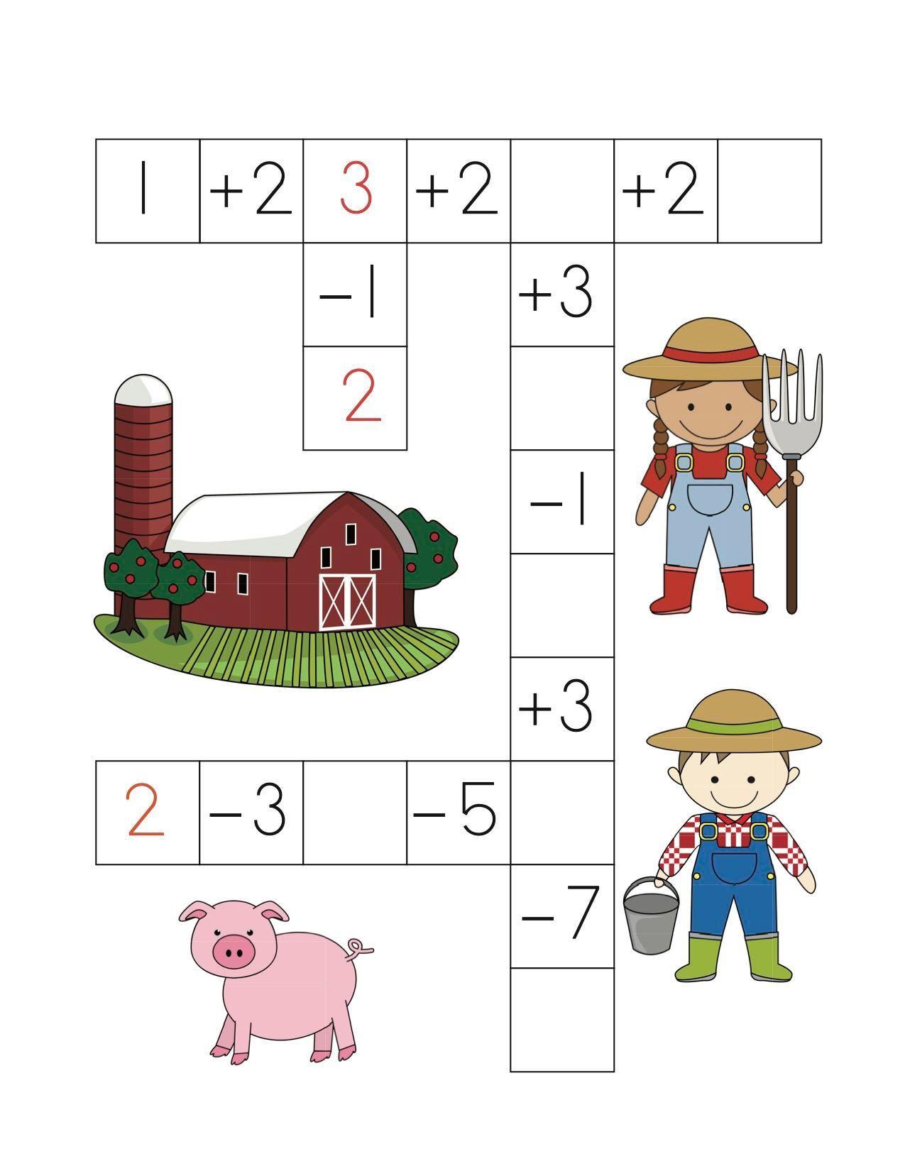 Farm Math Puzzles